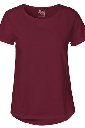 Ladies Roll Up Sleeve T-Shirt
